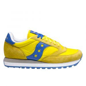 Scarpe Uomo Saucony Sneakers Jazz Original Giallo - Blu