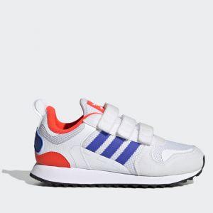 Scarpe Bambino ADIDAS Sneakers linea ZX 700 HD colore Bianco Blu e Rosso