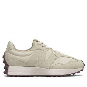 Scarpe Donna NEW BALANCE Sneakers 327 in Suede e Nylon colore Angora