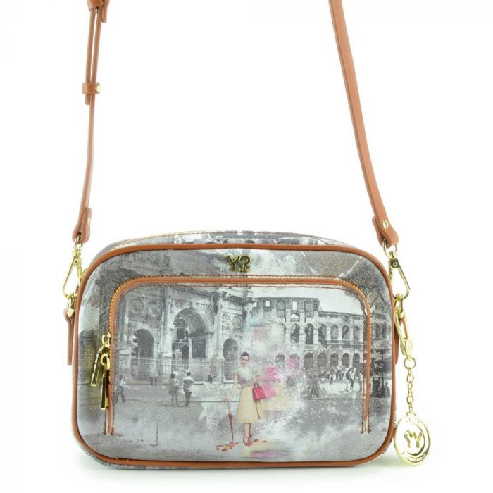 Borsa Donna a Tracolla Y NOT G-410 Funny Rome