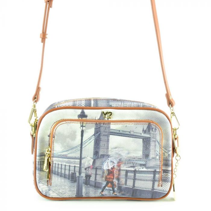 Borsa Donna a Tracolla Y NOT G-410 To Rainy London