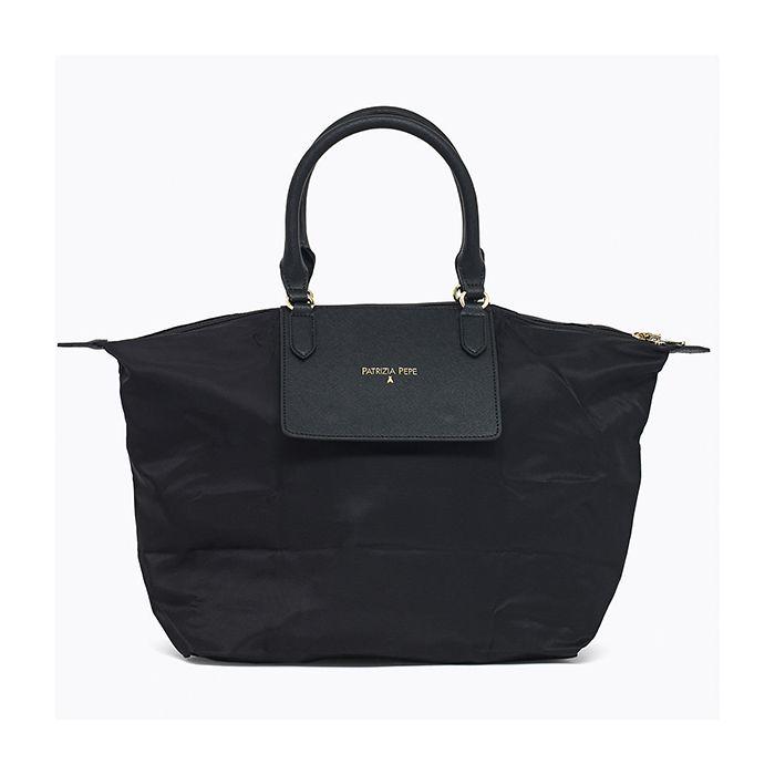 compra a sconto borsa donna patrizia pepe shopping a mano