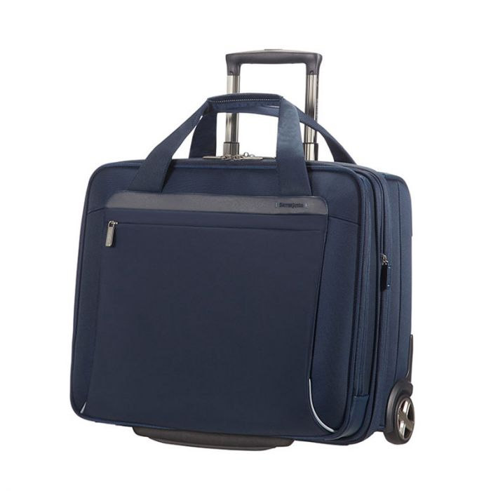 "Trolley pilota 48 ore espandibile con porta Pc 17"" e Tablet - Samsonite Spectrolite Blu"