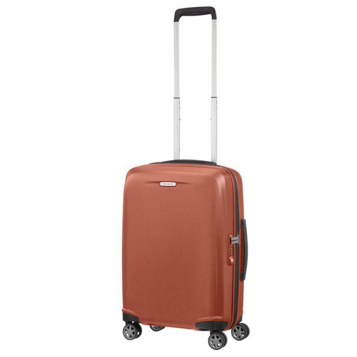 Trolley Cabina 55cm Ryanair 4 Ruote Leggero 2,6kg - Samsonite Starfire Orange