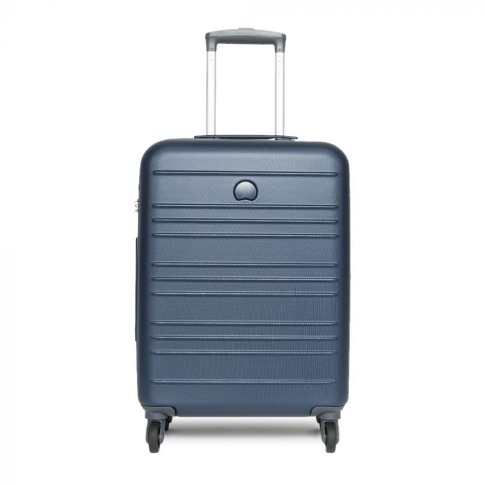 Trolley Cabina Delsey Carlit Blu 55cm 4 Ruote Leggero 2,6kg Rigido - Bagaglio a mano Ryanair