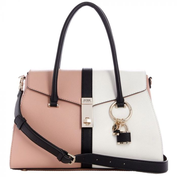 Guess Kamryn Tote Borsa A Mano Rose Borse Outlet Online