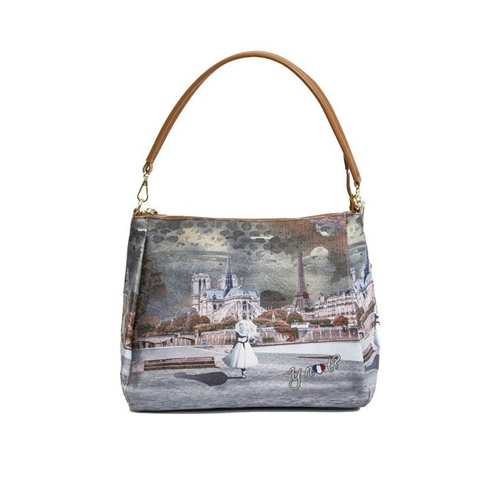 Borse Why Not.Y Not Borsa Stampa Mademoiselle York I 320 A Sconto Borse Ynot Cuoieria Shop