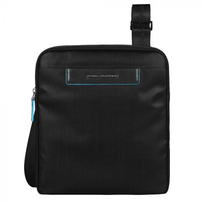Borsello Uomo con Porta iPad PIQUADRO linea AKI CA1358AK Nero
