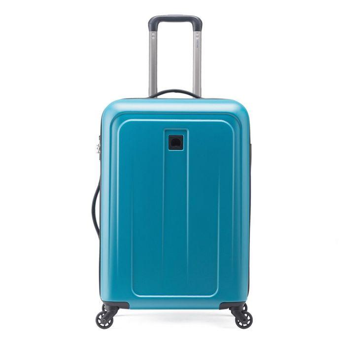 Trolley Medio 68cm Rigido 4 Ruote Leggero 4.2kg - Delsey Epinette Blu