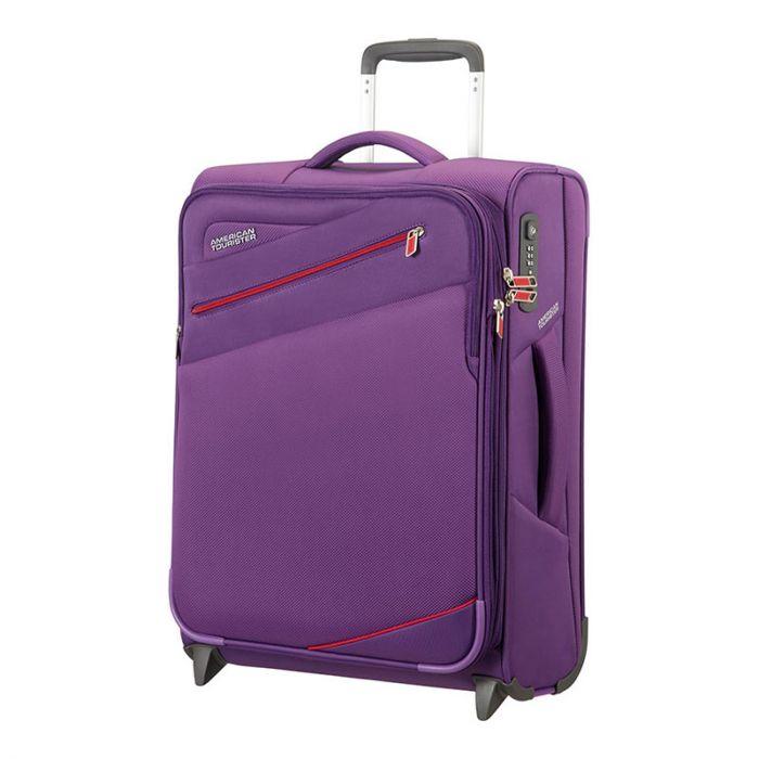 Trolley Cabina 55cm Ryanair 2 Ruote Leggero 2kg - Samsonite American Tourister Pikes Peak Purple