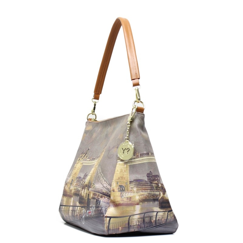 Borsa Donna Y NOT a Spalla con Tracolla I 321 Golden Bridge